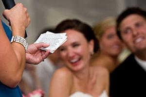 Как придумать свадебный тост- главное