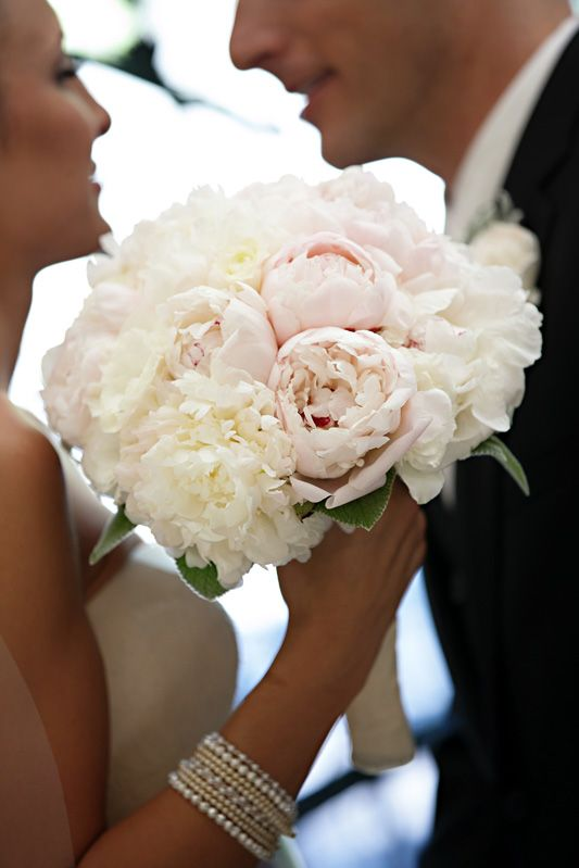 Пионы свадебный букет значение — 9